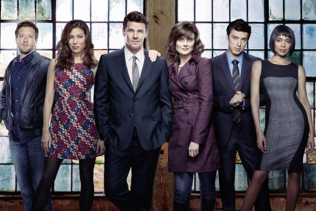 Il cast della serie TV Bones
