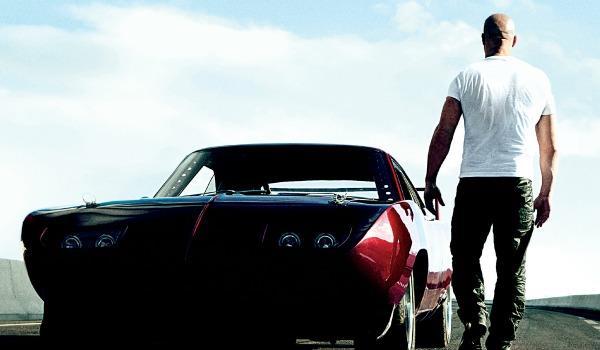 L'attore Vin Diesel in Fast & Furious 8