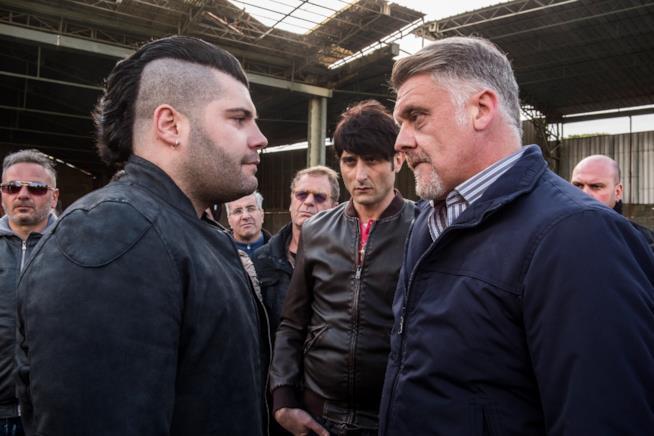Gomorra 3, scena con Fabio De Caro e Salvatore Esposito