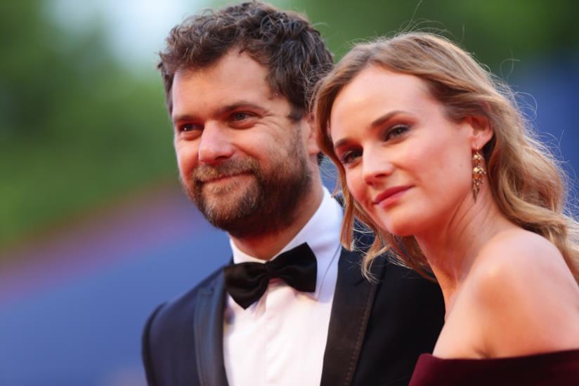 Primo piano di Diane Kruger e Joshua Jackson