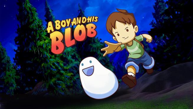 La copertina di A Boy and His Blob