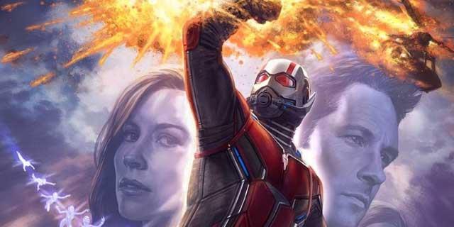 Uno scorcio del primo banner promozionale di Ant-Man and the Wasp