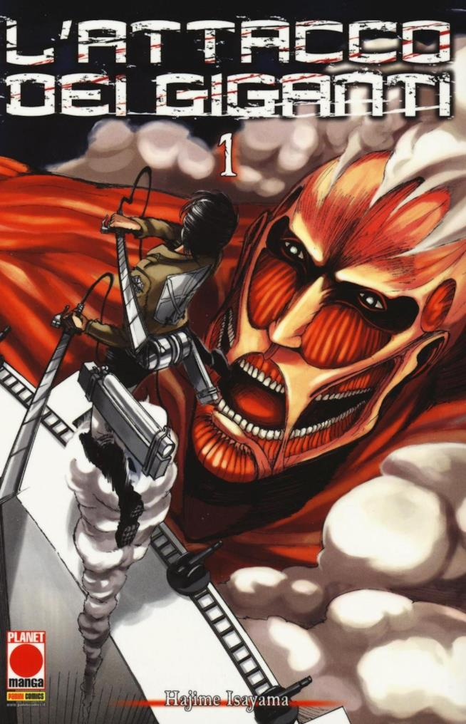Il manga L'Attacco dei Giganti