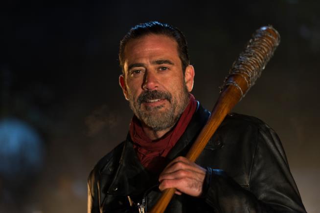 Negan nel finale di stagione di The Walking Dead 6
