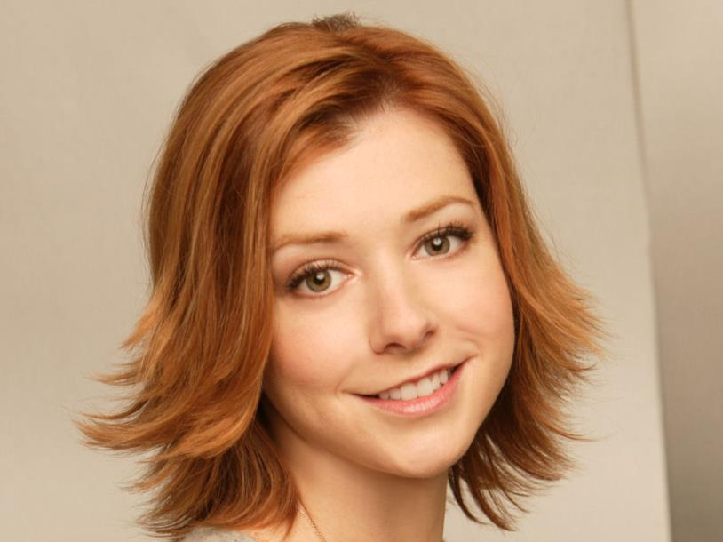 Lily Aldrin nella serie TV How I Met Your Mother