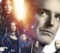 Il team di Marvel's Agents of S.H.I.E.L.D. al gran completo nel banner della quinta stagione