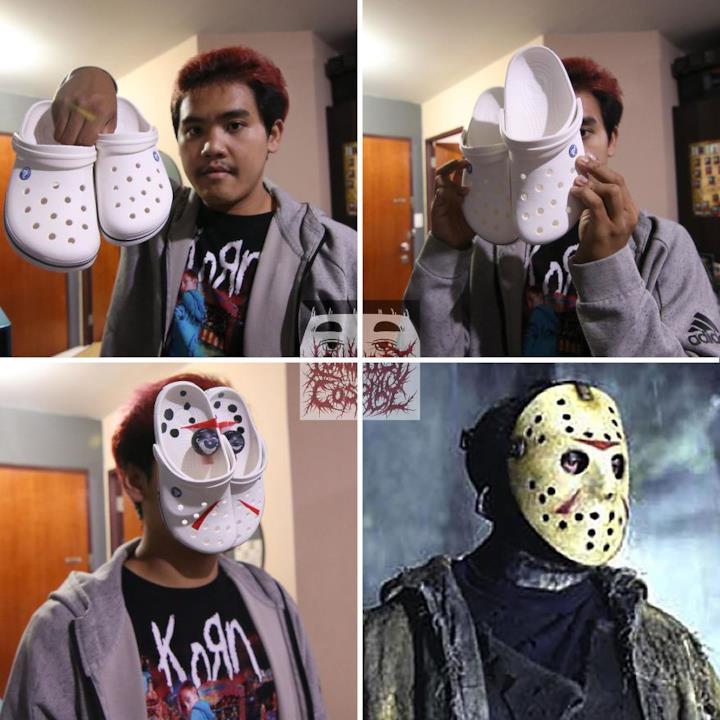 Low cost Cosplay: la maschera di Jason Voorhees