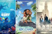 I poster di Alla Ricerca di Dory, Oceania, Animali Fantastici e Dove Trovarli