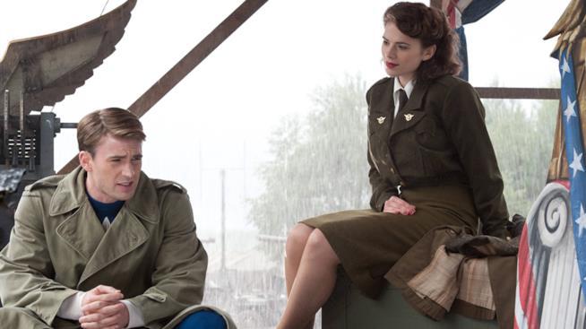 Cap e Peggy ne Il Primo Vendicatore