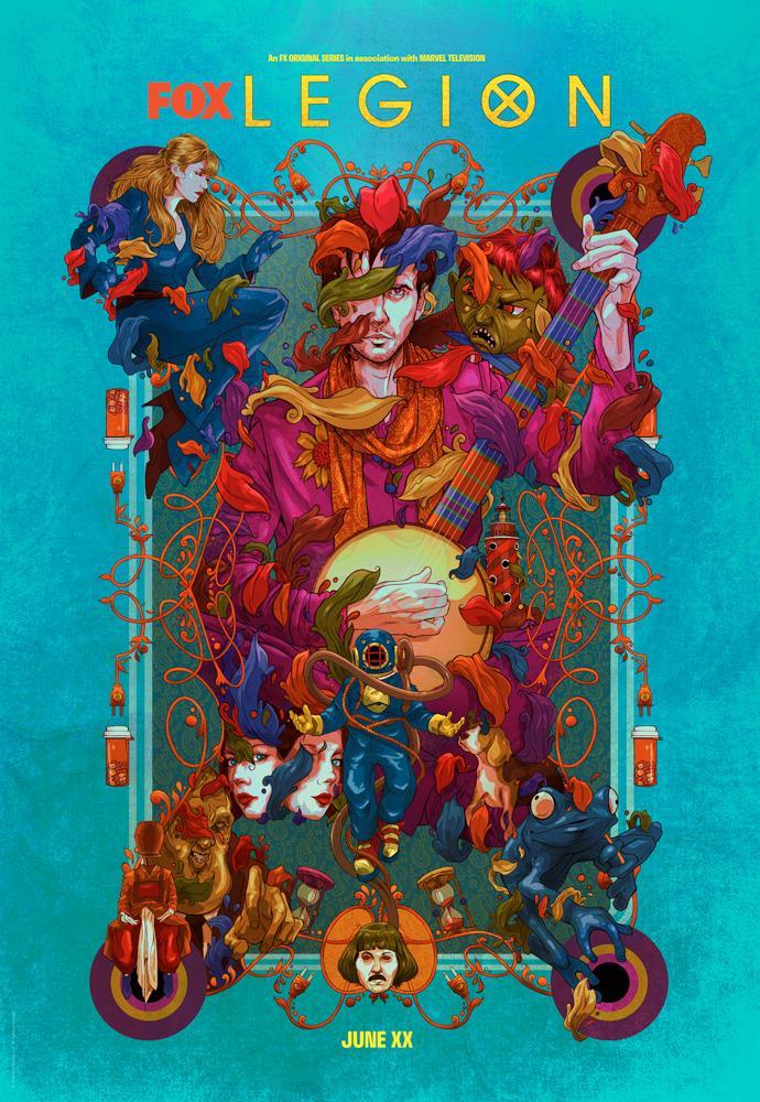 La locandina illustrata di Legion 3