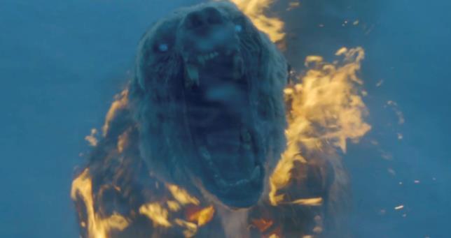 L'orso zombie in fiamme della settima stagione di Game of Thrones