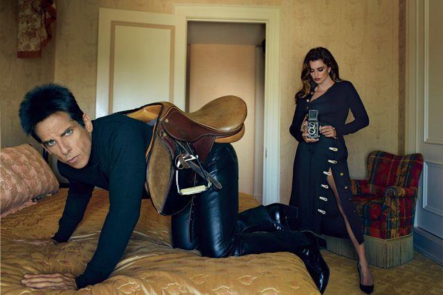 Derek Zoolander nel servizio di Vogue dedicato a Zoolander 2
