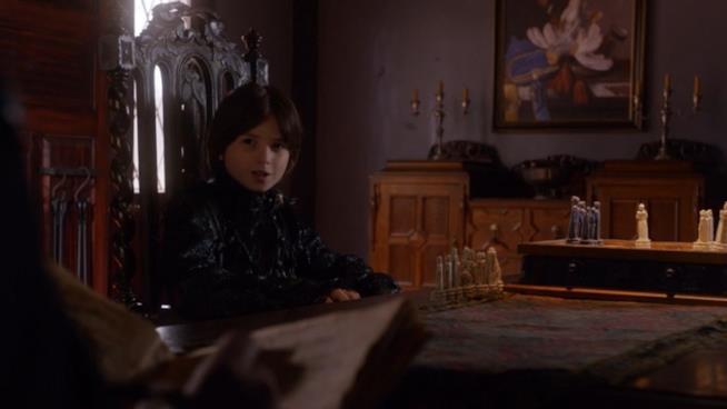 Il piccolo John è interpretato da Oliver Bell