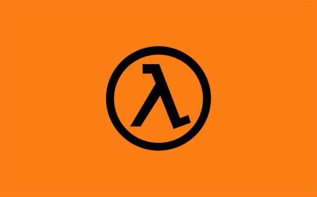 L'iconico logo della serie Half-Life