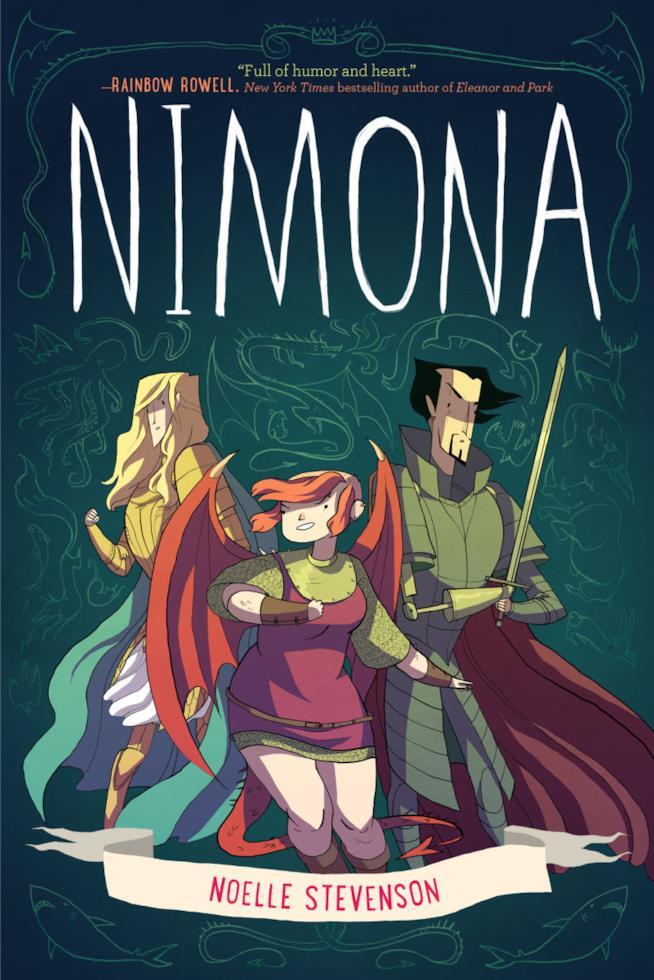 Nimona è tra le migliori graphic novel da leggere durante l'estate