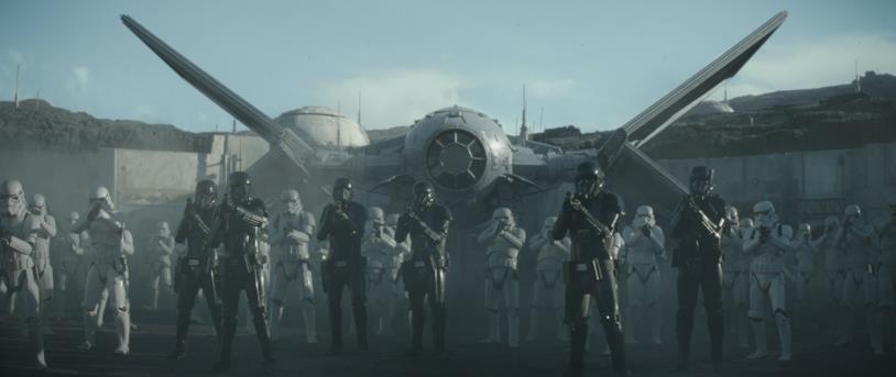 I Troopers nella serie TV The Mandalorian