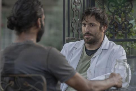 The Walking Dead: Dante con Siddiq