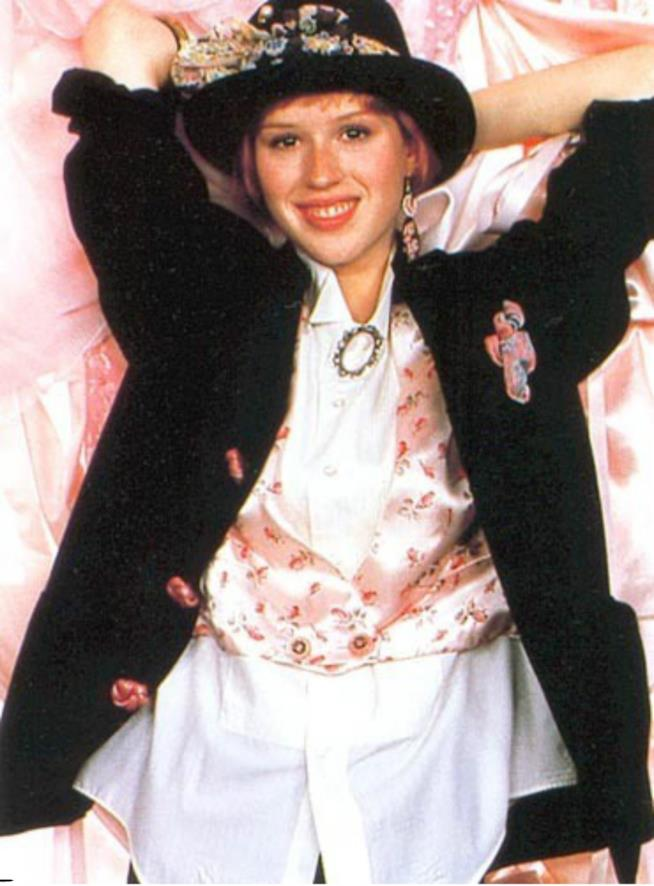 Molly Ringwald è Andie, Pretty in Pink