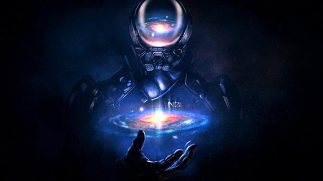 Uno splendido artwork per il protagonista di Mass Effect: Andromeda