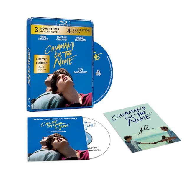 Chiamami col tuo nome, Blu-ray e CD