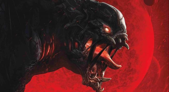 Uno dei terrificanti mostri di Evolve mostra la sua ferocia