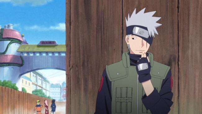 Kakashi, anime di Naruto Shippuden