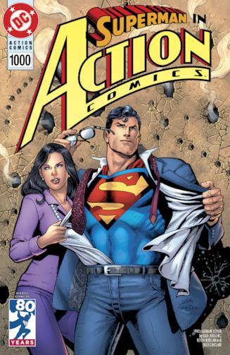 Copertina del numero 1000 di Action Comics