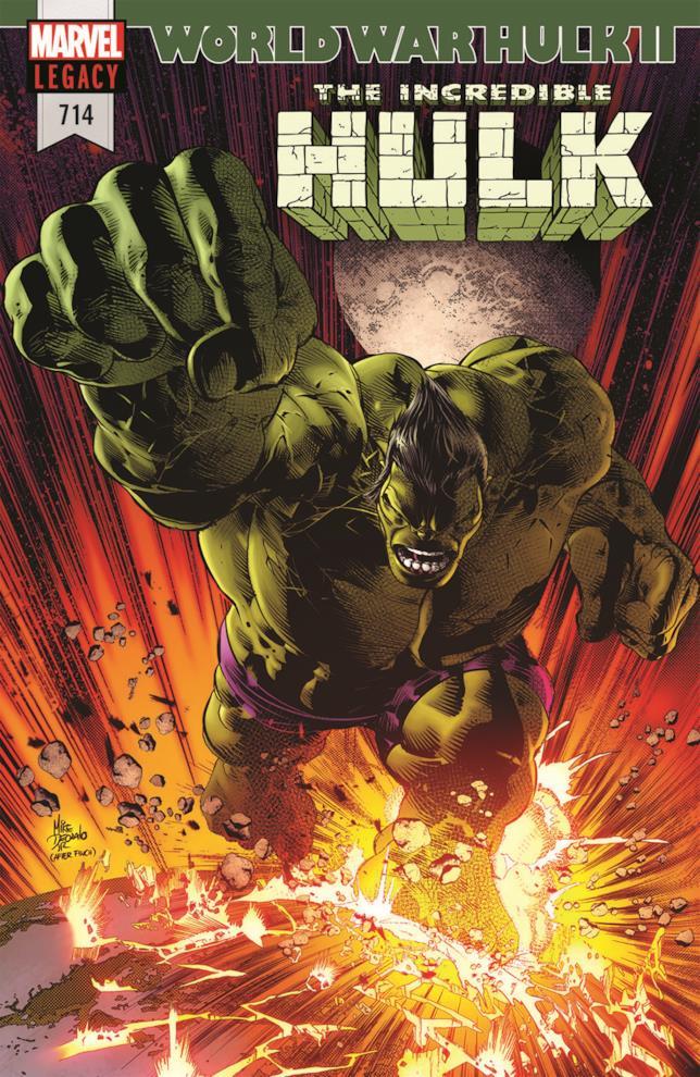 Prima copertina per War World Hulk II
