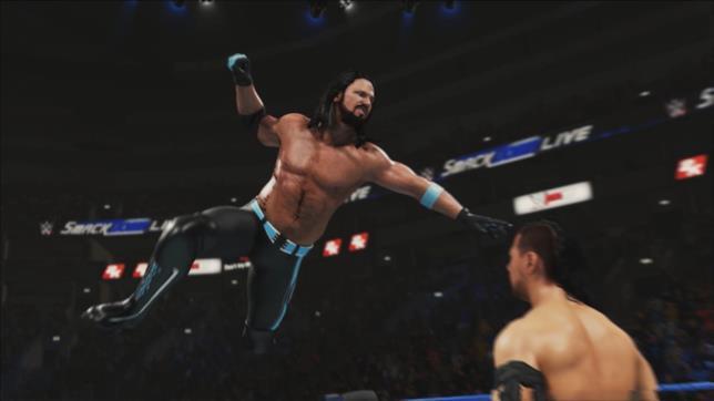AJ Styles contro Nakamura in WWE 2K19