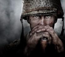 La cover ufficiale di Call of Duty: WWII
