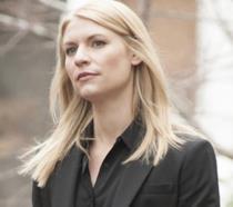 Claire Danes è Carrie in un'immagine di Homeland