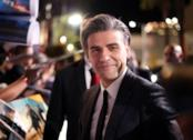 Oscar Isaac sul red carpet della premiere di Star Wars 9