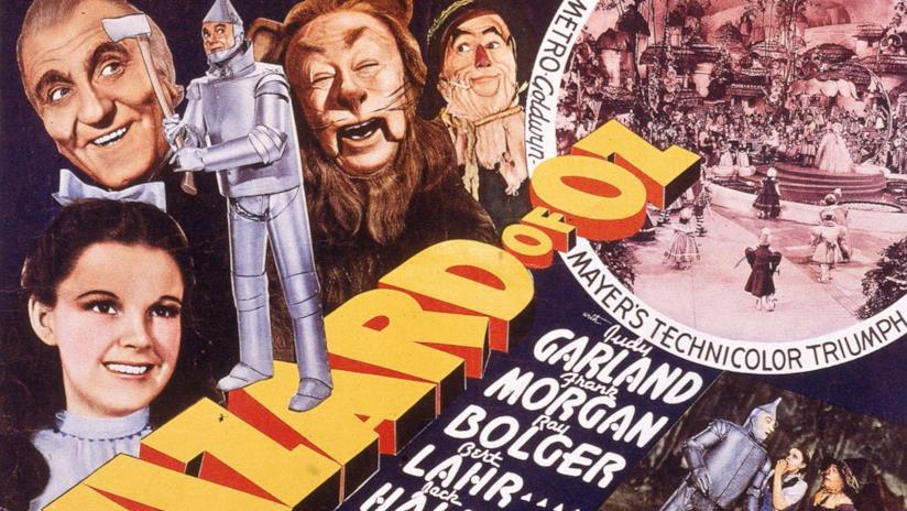Una delle locandine originali de Il Mago di Oz