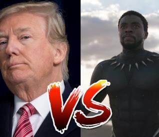 Trump e T'Challa: leader a confronto