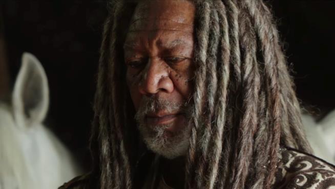 Morgan Freeman interpreta lo sceicco nel trailer di Ben-Hur