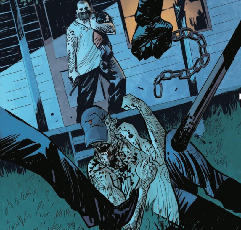 Tavola di Redneck #2 con Bartlett preso a botte