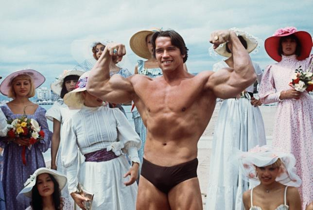 Arnold Schwarzenegger, 7 volte Mr. Olympia