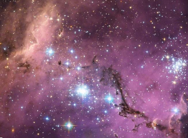 Una vista della Grande Nube di Magellano