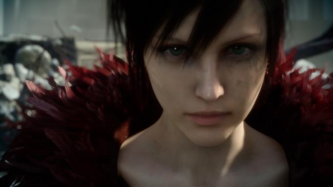 Una scena della demo tecnica di Square Enix