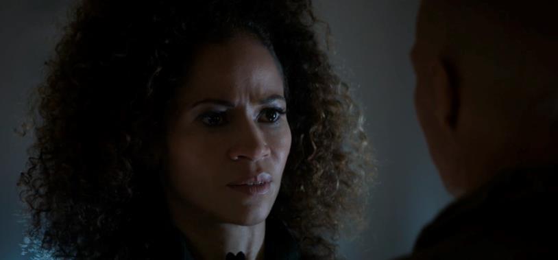 Atarah e Enoch a confronto nell'episodio 6x5