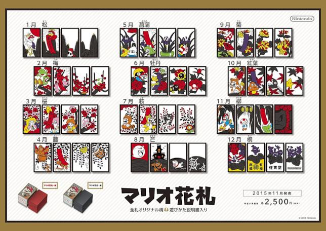 Le carte Hanafuda di Super Mario