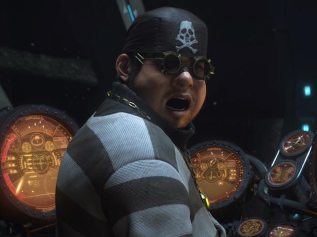 Yattaran, membro della squadra di Capitan Harlock