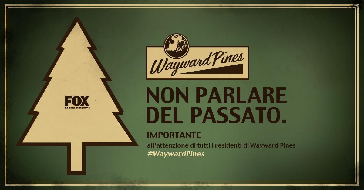 La cittadina di Wayward Pines rende noto che la trasgressione di queste regole verrà severamente punita.