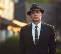 Un'immagine di James Franco sul set di 22.11.63