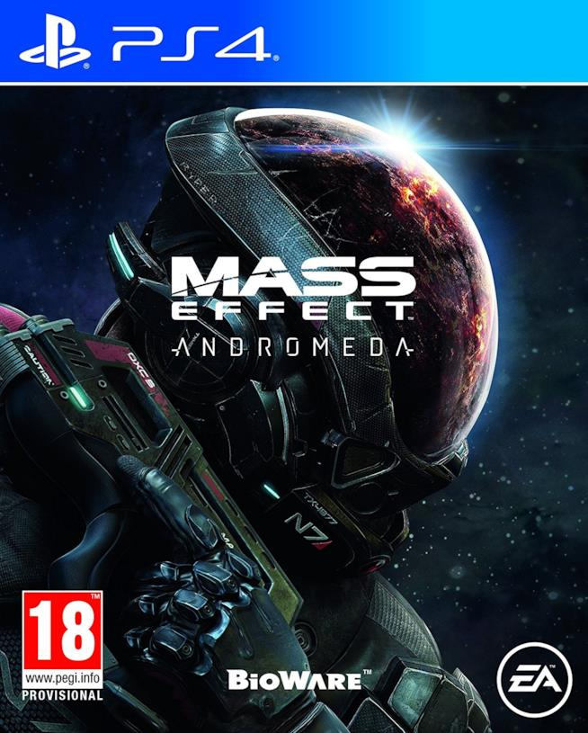 Mass Effect: Andromeda per PS4, Xbox One e PC
