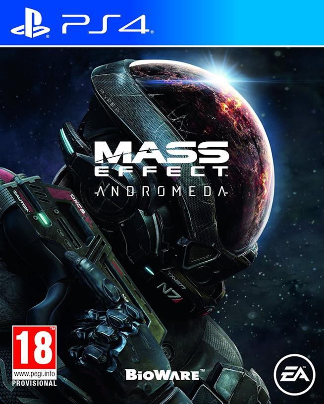 Mass Effect: Andromeda è disponibile su PS4, Xbox One e PC