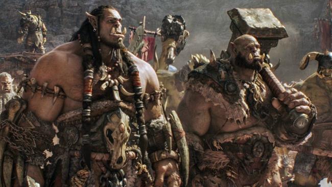 Alcuni Orchi in una scena di Warcraft - L'Inizio