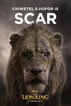 character poster di Scar