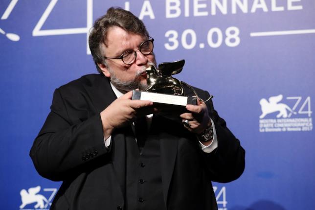 Guillermo del Toro a Venezia 74