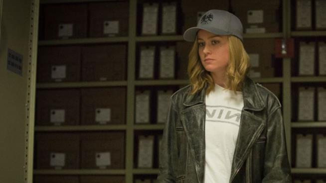 Captain Marvel interpretata da Brie Larson